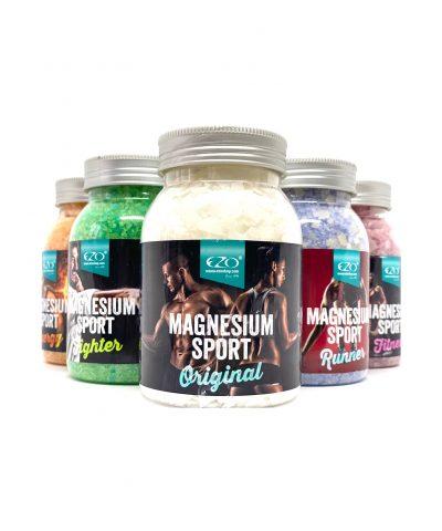 Soľ do kúpeľa magnézium sport na bolesť svalov