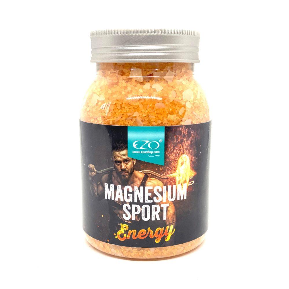Soľ do kúpeľa magnézium sport energy na bolesť svalov