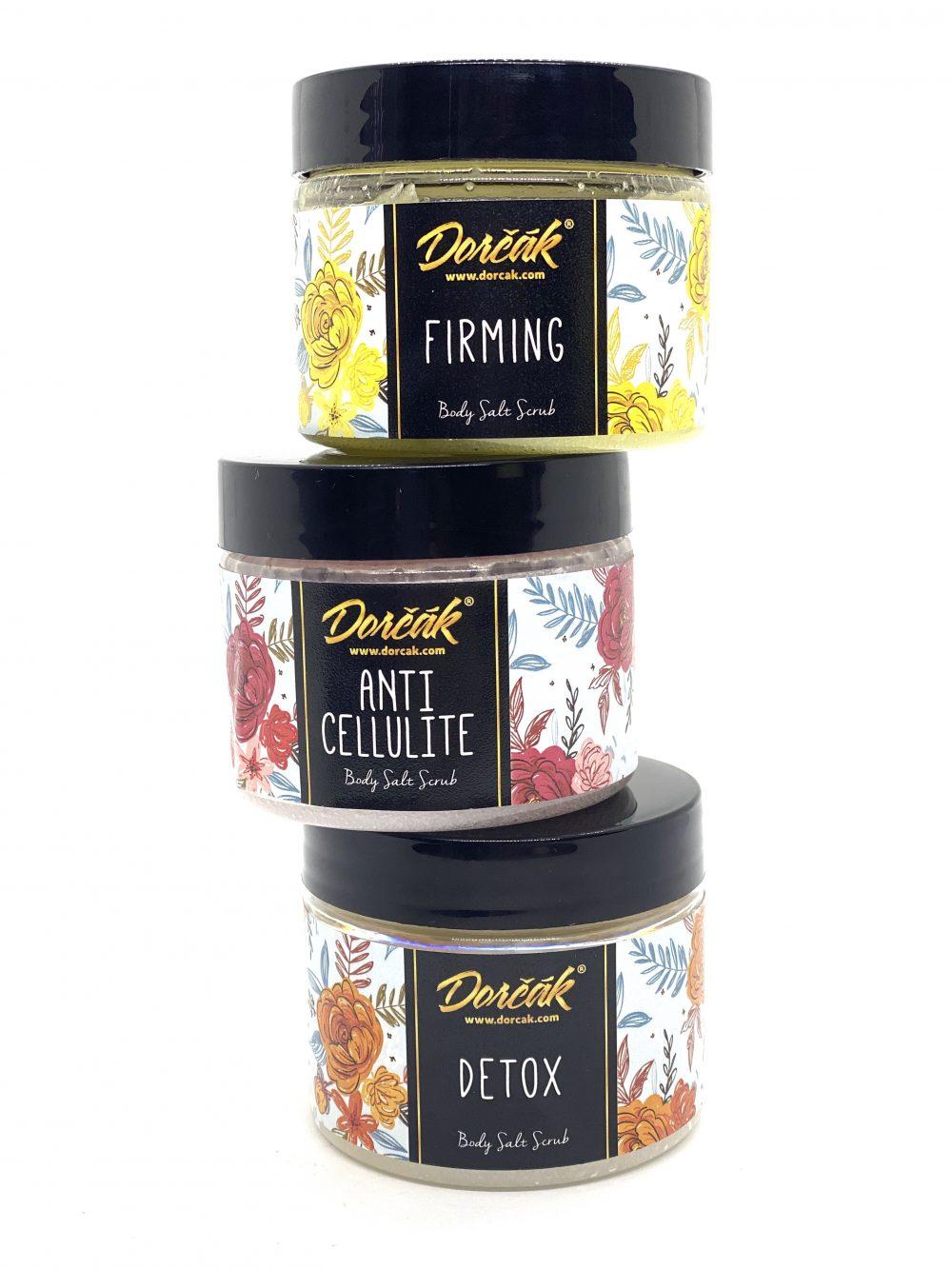 Peeling na telo detox, proti celulitíde, spevňujúci