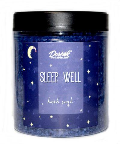 Kúpeľová soľ na dobrý spánok levanduľa