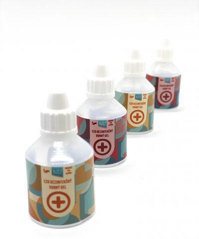 Antibakteriálny dezinfekčný gél